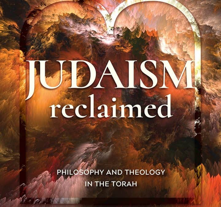Forthcoming: Judaism Reclaimed